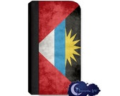 Antigua and Barbuda Flag Wallet Case for Samsung Galaxy Note Models