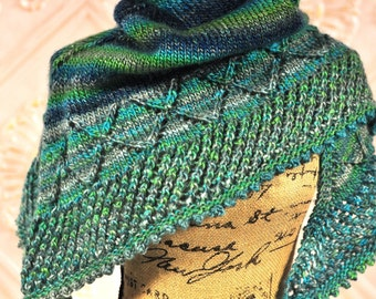 Sara's Shawl Knitting PATTERN