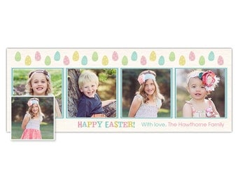 Easter Eggs Facebook Timeline Template for Photographers - PSD Photoshop Template - INSTANT DOWNLOAD