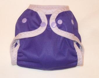 Small Purple Diaper cover