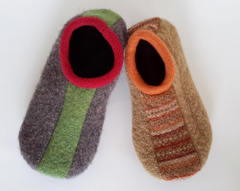 Bolwing Slippers Pattern - Instant Download