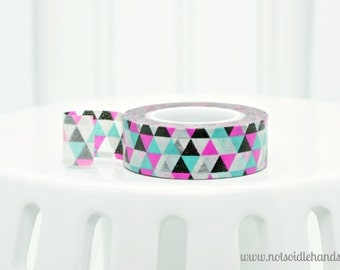 Washi Tape Roll Multi Triangles Use for Favors, Baby Showers, Weddings, Party, Parties, or Gifts