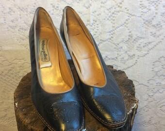 Vintage Andrew Geller Black Shoes