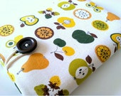 Kindle Paperwhite Case Sleeve Padded Cover for Kindle - Apples and Pears