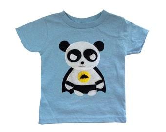 Team Super Animals - Flying Panda Toddler T-Shirt