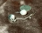 14kt. White Gold Pearl Tie Tack