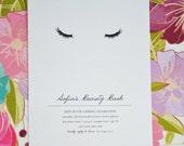 Beauty Bash, Printable Party Invitation