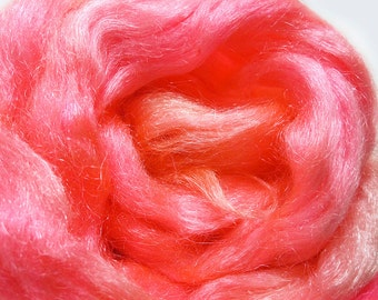 Auntie Mame - Hand Dyed Icicle Sparkle