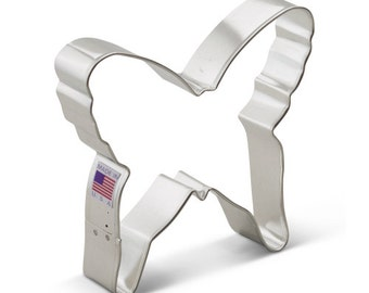 """LG Butterfly Cookie Cutter 5"""" made in USA"""