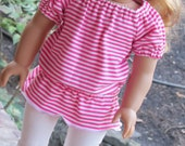 Trendy Tunic and Leggings for 18 Inch Doll