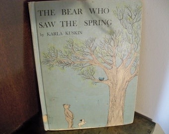 the bear who saw the spring 1961 hard cover book