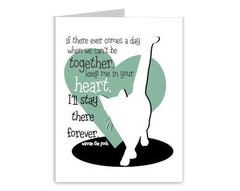 cat sympathy card pet sympathy card cat loss card