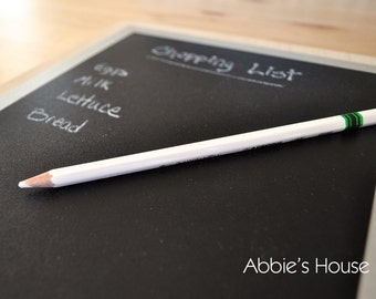 Chalk Pencil - 7 inch - writes on chalkboard surfaces