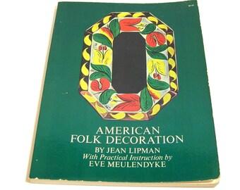 American Folk Decoration By Jean Lipman