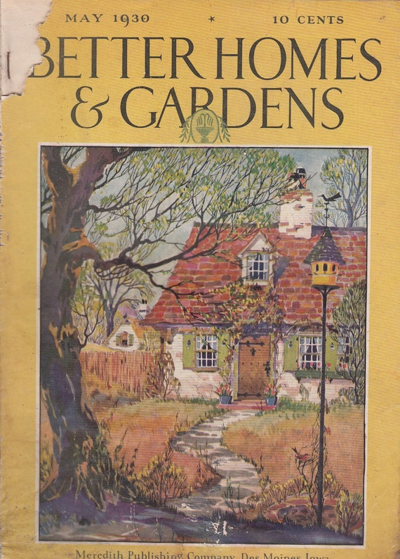 May 1930 Bhg Better Homes Gardens By Quinsippimercantile