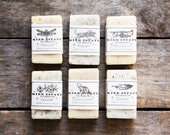 6 Small Bars // cold process soap // handmade soap gift set // you choose scents // all natural soap // lightly scented // natural // vegan