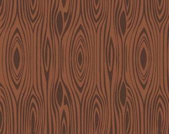 Elk Ridge Wood Brown- Riley Blake- C3045