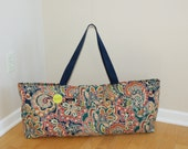 Xlarge Yoga Bag with Quilted Lining-made to order!