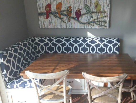 Items Similar To Custom Cushion Sewn Banquette Seat Bench