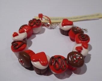 Love Cupcakes Bracelet
