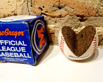 Rare Little League Cut-Away Baseball. MacGregor . Original Box. Novelty Advertising.