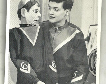 Original Black and White Signed Ventriloquist Photograph