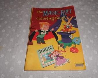 SAALFIELD Children's Coloring book The Magic Hat Big Little Coloring book