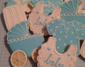 KNOXVILLE Baby Boy Shower Cookies