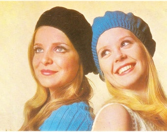 Berets knitting pattern