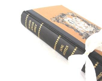 Northanger Abbey by Jane Austen, Goth Romance Novel, Jane Austen Wedding, Goth Wedding Decor, Janeite, AustenLover, Old Jane Austen Book