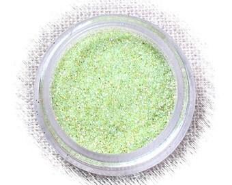 Sour Apple Disco Glitter, Light Green Glitter, Non Edible Confectionary Glitter, Light Green Fondant Glitter, Pastel Gumpaste Glitter (5g)