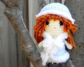 Twinkle - Amigurumi crochet girl doll pattern / PDF