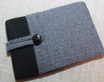 Kindle Paperwhite / Mini ipad / Kindle Voyage / Nexus 7  100%  Wool & Cashmere Fabric Sleeve