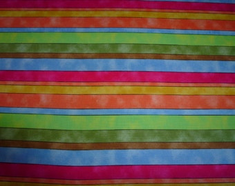 Fat Quarter,Multi Color Fat Quarter,Fat Quarter for Sewing,Fat Quarter for quilting,Stripe Fabric,Fabric Supplies,Craft Supplies,Multi Color