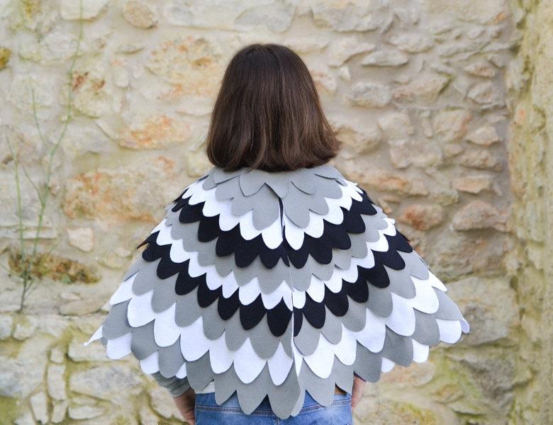 Kids dress up Wing Cape Bird wings for Children Halloween