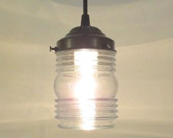 Dexter. Clear Glass PENDANT Light