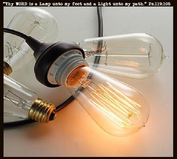 edison inspired light bulb dimmable 60 watts pendant. Black Bedroom Furniture Sets. Home Design Ideas