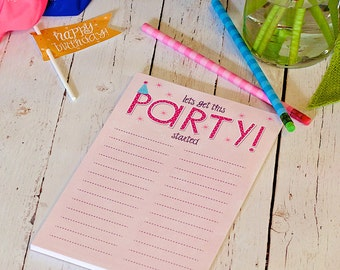 To-do grocery list notepad