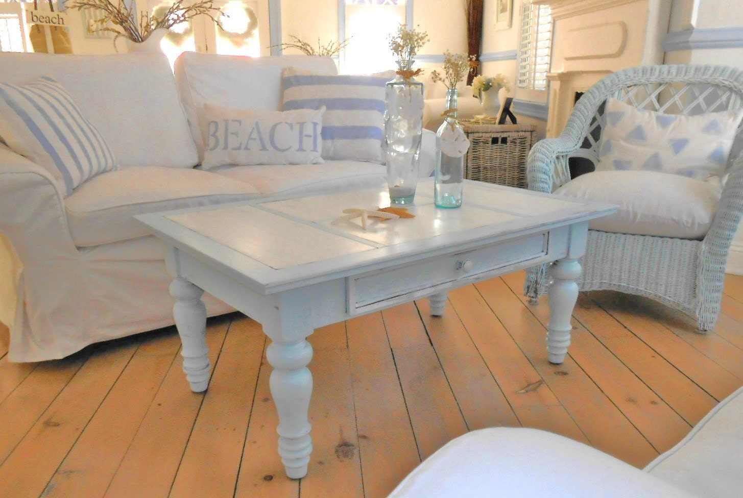 Reserved For Cheryl ffee table shabby chic by