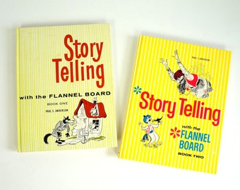 Story Telling with the Flannel Board by P. Anderson 70s HC Like-New / Homeschool, Classroom, Language, Imagination