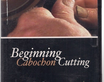 Beginning Cabochon Cutting Instructional DVD by Jim Barzee