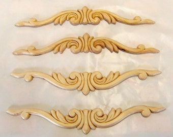 Popular items for decorative crowns on etsy for Decorative wood onlays