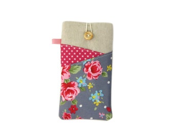 OnePlus 3T Case, Moto E4 Plus, OnePlus 5, Galaxy S8 Plus Case, LG G6 Pouch, Floral Galaxy Phone Case for Girls, Moto Z2 Play, Samsung S7