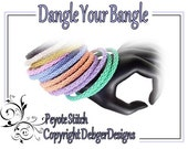 Dangle your Bangle - Beading Pattern Tutorial (Double Peyote)