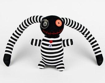 Halloween Gift Handmade Sock Pirate Stuffed Animal Doll Baby Toys