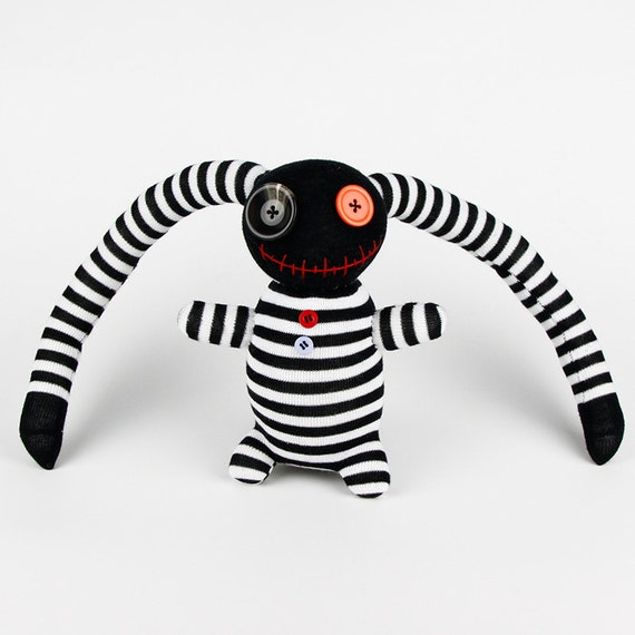 Halloween Gift Handmade Sock Pirate Stuffed Animal Doll Baby Toys