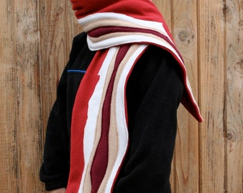 Deluxe Bacon Scarf for All-Nivores - Made In Fleece, Not Grease