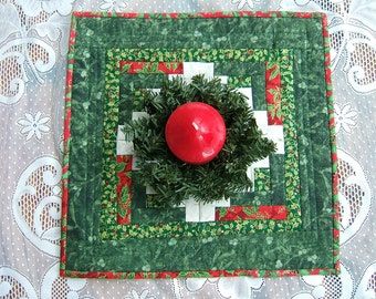 A Christmas Candle Mat