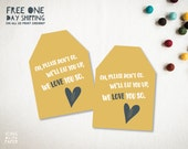 Where the Wild Things Are Printable Favor Tags