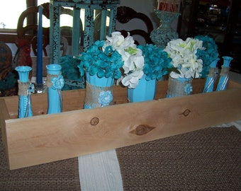 6 SMORES BAR , 36 in Planter Boxes , rustic wedding , reception centerpiece , wood planter , table centerpieces ,wedding decorations,cedar